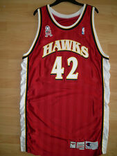 NBA Atlanta Hawks Gameworn Jersey Trikot - 2001/2002 - 9/11 Patch