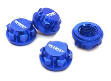 Integy Aluminum 17mm Hex Wheel Nuts (4) : Traxxas X-Maxx 4x4 C27073BLUE