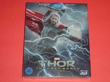 Thor The Dark World 2D/3D Full-Slip Blu-Ray Steelbook Limited from Korea