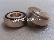 ZM 4pcs (gold) Aluminum feet/foot pads for amplifer/dac D:44mm H:17mm model B