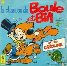 BD 45 TOURS FRANCE LA CHANSON DE BOULE ET BILL (ROBA)