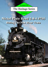 Railroad DVD: Nickel Plate Road 765 On The New River Train in 1985