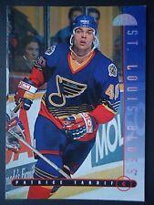NHL 22 Patrice Tardif St. Louis Blues Donruss Leaf 1995/96