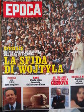EPOCA n°1497 1979 - Ornella Muti - Foto Papa Wojtyla in Polonia   [G393]