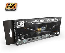 Ak02001 AK INTERACTIVE-LUFTWAFFE CAMOUFLAGE Colori Set