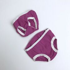 New American Girl Two Pair Panties Underwear Only Retired Ready for Fun Outfit