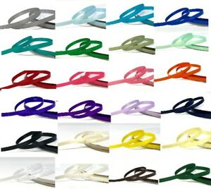 Bertie's Bows 6mm Double Sided Satin sold on a 3m length or 91.4m/100yd roll