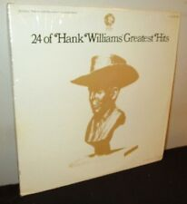 Hank Williams ‎– 24 Of Hank Williams' Greatest Hits - (LP's/Sleeve): NM/NM