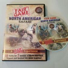 North American Safari Hunting DVD
