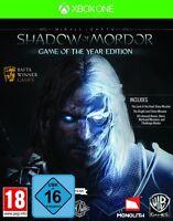 XBOX ONE Spiel Mittelerde: Mordors Schatten - Game of the Year Edition NEU&OVP