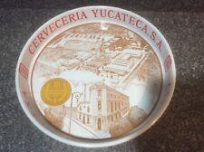 Montejo Cerveza Metal Beer Tray Vtg Rare Carta Clara Leon Negra 75th Anniversary