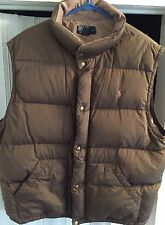 Men's Ralph Lauren Polo Puff Vest Size XXL