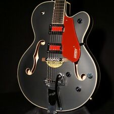 Gretsch G5410T MBK Rat Rod Hollow Body Matte Black Electromatic Guitar