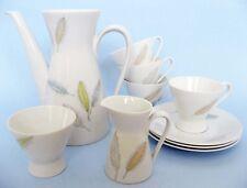 Rosenthal Mid Century Retro Feathers Porcelain Teapot set