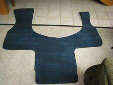 NEW NOS GENUINE GM ACCESSORY 85-95 SAFARI ASTRO FRONT CARPET FLOOR MAT TEAL BLUE