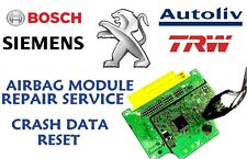 PEUGEOT 208 9812713380 AIRBAG SRS MODULE CRASH DATA RESET REPAIR SERVICE