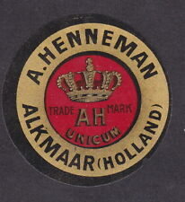 Ancienne petite étiquette  fromage  Hollande  BN19654 Couronne