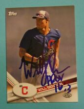 2017 Topps Pro Debut, AZL Indians - WILL BENSON - autographed