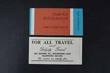 VA55 AUSTRALIA  BOOKLET #446a-449a COMPLETE 1968 - MINT OG NH VERY FINE $16.00