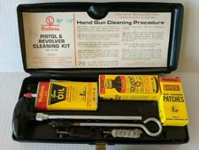 COMPLETE 1977 Outers Pistol & Revolver Cleaning Kit - No. P-479 - NM Oil Can