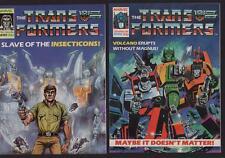 Marvel UK Transformers 1986 #88 #89   c1.520