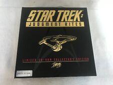 Star Trek Judgment Rites Big Box Limited Collectors Edition