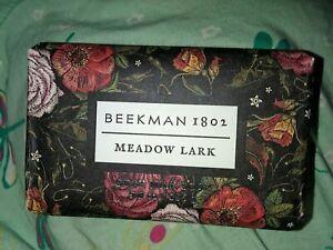 Beekman 1802 MEADOW LARK Goat Milk Soap, 9 oz Bar *BRAND NEW*