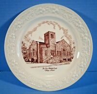 Collector Plate First Methodist Church Gillespie Illinois Homer Laughlin China
