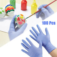 Kids Gloves Nitrile Disposable Latex Free Pack of 100 Powder Free Purple XS/S