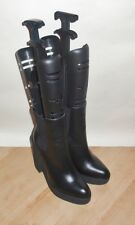 NEW Schuh ladies black leather pull on ankle boots size UK 6