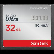 SanDisk 32GB Ultra CompactFlash CF 50MB/S Tarjeta de Memoria Para la cámara