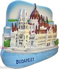 Hungarian Parliament Budapest Square Hungary Refrigerator 3D Fridge Magnet