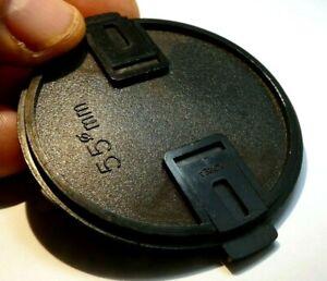 Plastic 55mm Lens front Cap vintage black for f1.7 f1.8