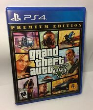 Grand Theft Auto V/5 Premium Edition Ps4 Video Game Used Good Condition Tested