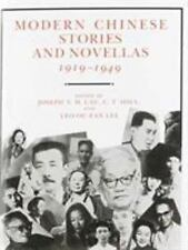 MODERN CHINESE STORIES AND NOVELLAS, 1919-1949 - LAU - NEW PAPERBACK BOOK