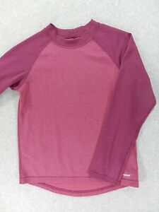 Patagonia Capilene 3 Base Layer Shirt Top (Boys Medium) Purple
