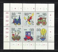 ALEMANIA, (D.D.R.). Año: 1980. Tema: JUGUETES HISTORICOS (I).