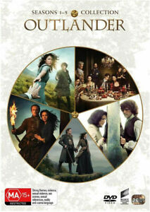 Outlander Complete Series Seasons 1-5 1 2 3 4 5 New DVD Box Set Region 4 R4