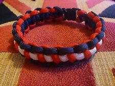 RNLI  Royal National Lifeboat Institution Inspired handmade paracord bracelet