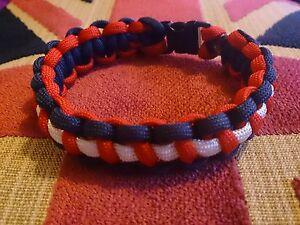 RNLI  Royal National Lifeboat Institution Inspired handmade paracord bracelet