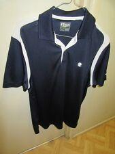 Ladies IZOD Golf Polo shirt. navy n white. New Sz: S/P REDUCED ITEM