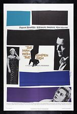 MAN WITH THE GOLDEN ARM ✯ CineMasterpieces SAUL BASS ORIGINAL MOVIE POSTER 1955