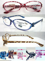 L328 Fashion Lady Reading Glasses/Bow-knot Detailed/Fancy Colorful Tortoiseshell