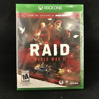 Raid: World War II (Microsoft Xbox One, 2017) BRAND NEW / Region Free