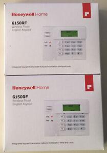 6150RF HONEYWELL SECURITY WIRELESS ALARM KEYPAD NEW FACTORY-SEALED! 2 LOT