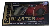 Creative Sound Blaster ZxR - Studio Grade Audio Quality Sound Card