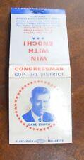 Dave Enoch Colorado's New Age Congress Matchbook Cover