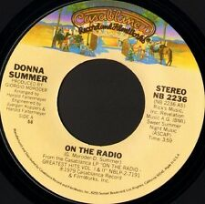 "DONNA SUMMER on the radio 7"" WS EX/ usa casablanca NB 2236"