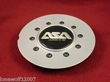 ASA Wheels Silver Custom Wheel Center Cap # 8B169 (1)