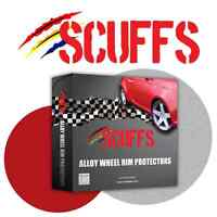 Orange Scuffs by Rimblades Alloy Wheel Rim Protectors/ Rim Guards/Rim Tape